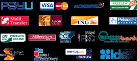 Dostępne metody płatności PayU