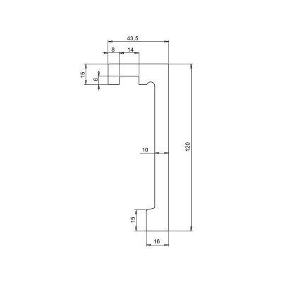 LK-03 listwa karniszowa z opcją LED Creativa by Cezar