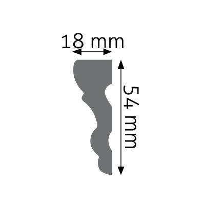 LNG-05F listwa naścienna elastyczna Creativa by Cezar