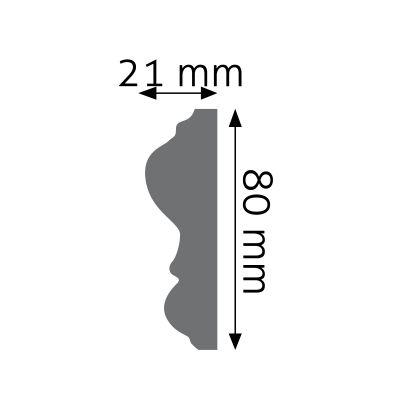 LNG-12F listwa naścienna elastyczna Creativa by Cezar