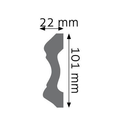 LNG-14F listwa naścienna elastyczna Creativa by Cezar