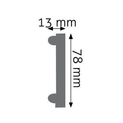 LNZ-01F listwa naścienna elastyczna Creativa by Cezar