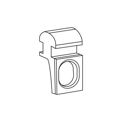 Oczko 10 szt. do szyn karniszowych Creativa ZS/ZD Creativa by Cezar