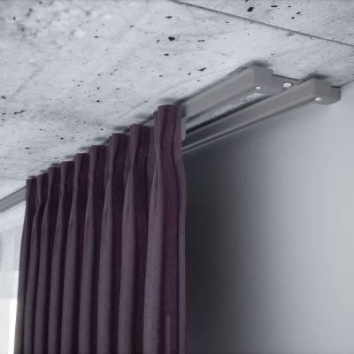 ZS2-250 Szara szyna aluminiowa podwójna (250 cm) Creativa by Cezar