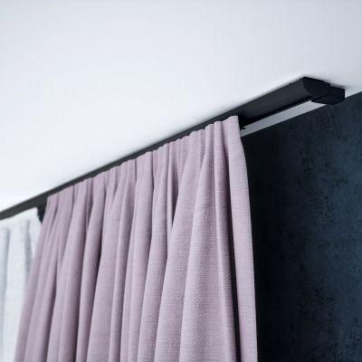 ZD-100 Czarna szyna aluminiowa pojedyncza (100 cm) Creativa by Cezar